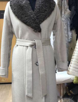 Изготовление съемного воротника на пальто - 2