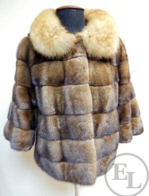 Куртка норка/соболь - 5