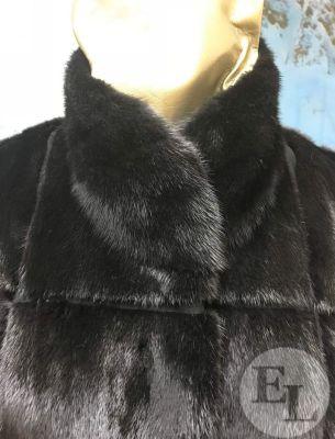 перешив норковой шубы воротник-стойка - 4