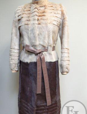 Перешив куртки из козлика на пальто