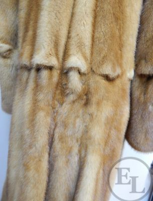 Куртка норка рыжая - 5