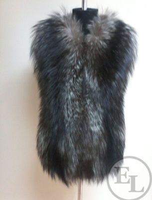 Пошив жилета из лисы