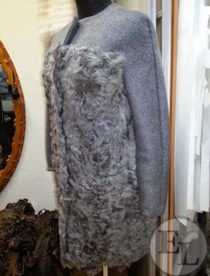 Пальто серое - 1