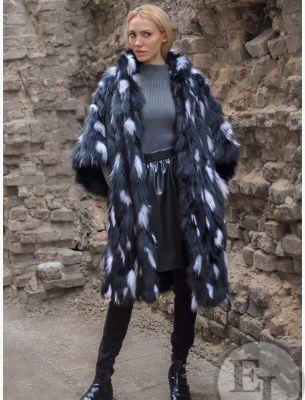 Пальто из меха - 15