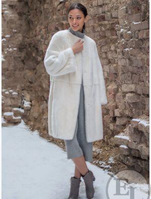 Пальто из меха - 17