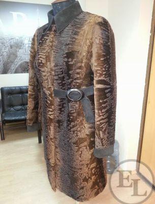 Пальто из свакары до/после - 2