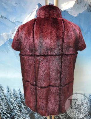 Пошив жилета с отделкой из замши - 3
