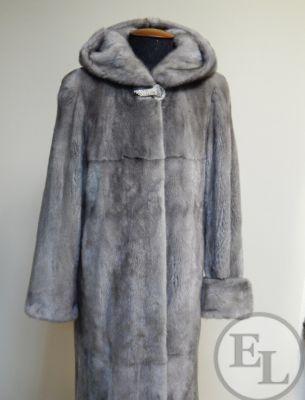 Куртка из голубой норки, перекрой - 5