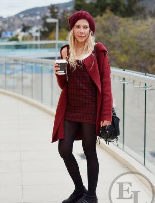 Молодежное пальто 2016 - 9