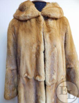 Куртка норка рыжая - 7