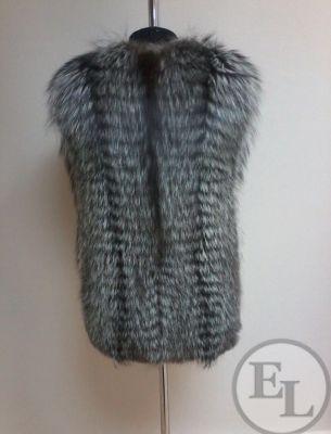 Пошив жилета из лисы - 3