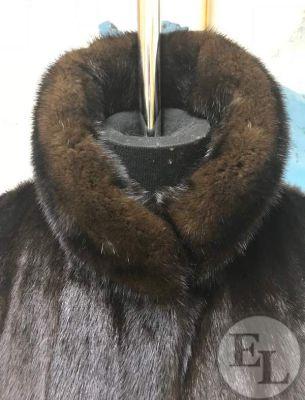 Перекрой норковой шубы с расшивкой - 3