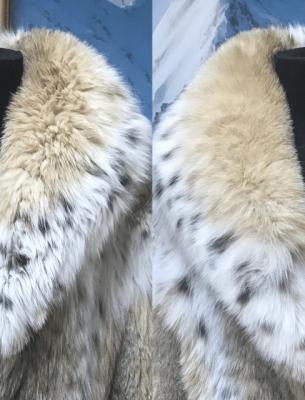 Химчистка шуб до и после - 7