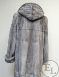 Куртка из голубой норки, перекрой - 7