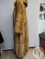 Куртка норка рыжая - 10