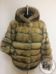 Куртка из меха соболя - 4