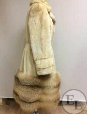 Ремонт шубы, добавление меха лисы - 2