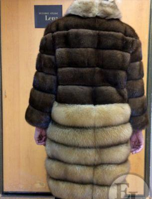 Куртка норка/соболь - 3