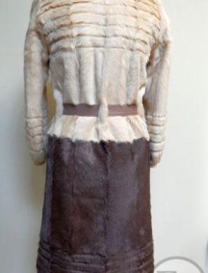 Перешив куртки из козлика на пальто - 3