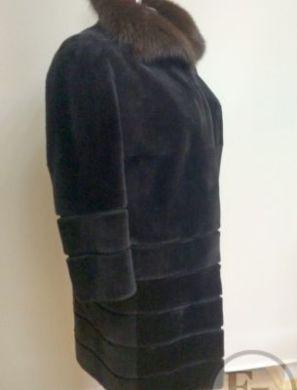 Шуба из стриженного бобра - 1
