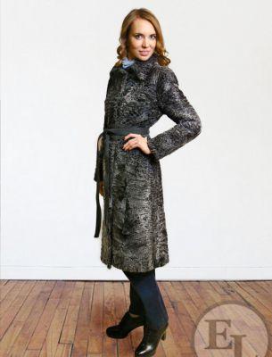 Пальто из каракульчи - 1