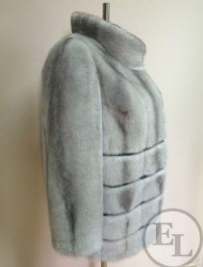 Перешив норковой шубы (голубая норка) - 2