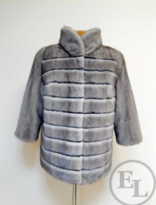 Куртка из голубой норки, перекрой - 1