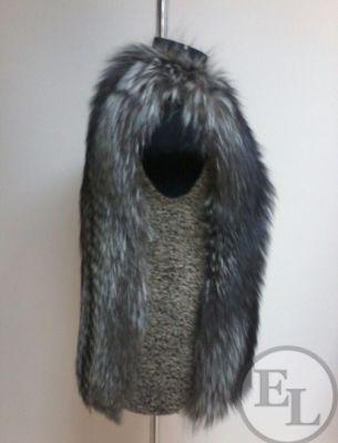 Пошив жилета из лисы - 2
