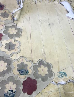 Этапы подготовки меха для жилета