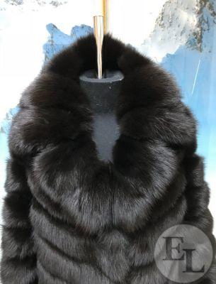 Пошив шубы из соболя (крашеный мех соболя) - 2