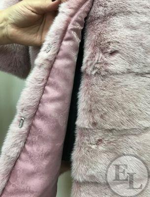 Перекрой норковой шубы красивого оттенка - 1