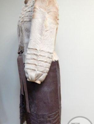 Перешив куртки из козлика на пальто - 2