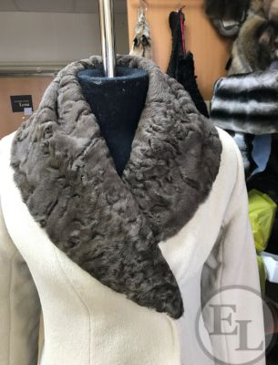 Изготовление съемного воротника на пальто