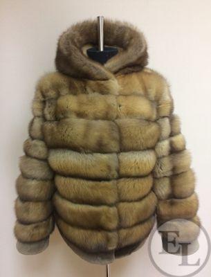 Куртка из меха соболя