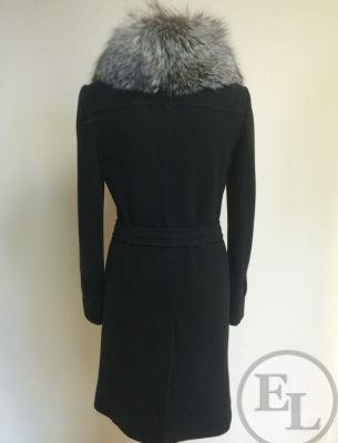 Классическое пальто, воротник из чернобурки - 3