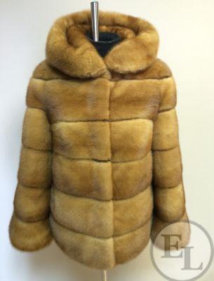 Куртка норка рыжая - 2
