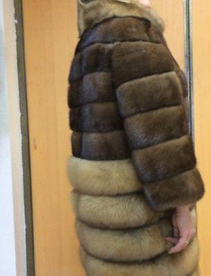 Куртка норка/соболь - 2