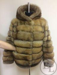 Куртка из меха соболя - 5
