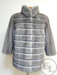 Куртка из голубой норки, перекрой - 4