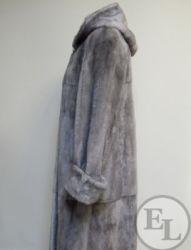 Куртка из голубой норки, перекрой - 6