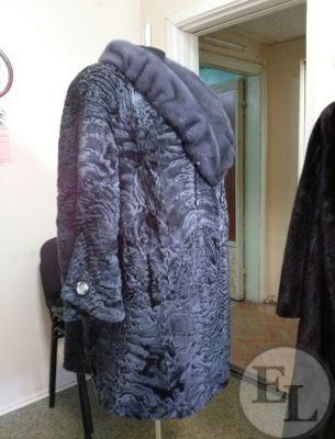 Пошив из нового меха/Пальто каракульча - 3
