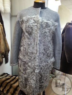 Пальто серое - 2
