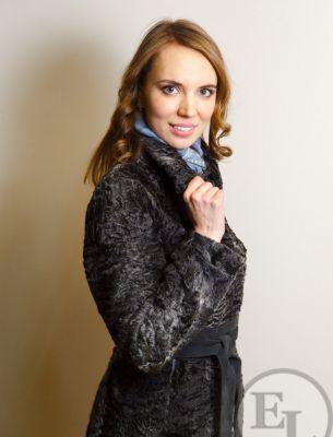 Пальто из каракульчи - 3