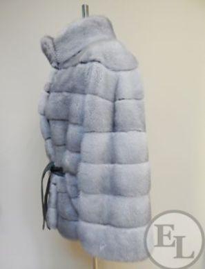 Куртка из голубой норки - 2