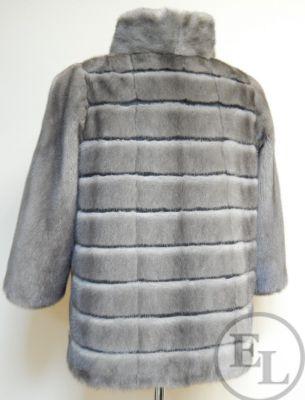 Куртка из голубой норки, перекрой - 2