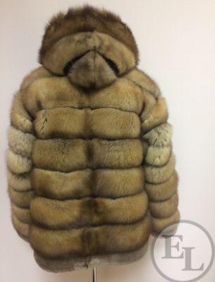 Куртка из меха соболя - 3