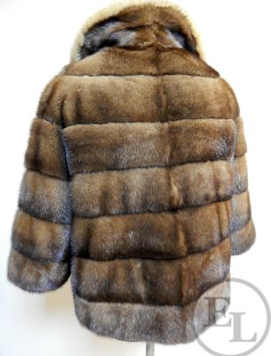 Куртка норка/соболь - 4