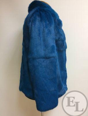 Синяя шубка. Пошив - 2