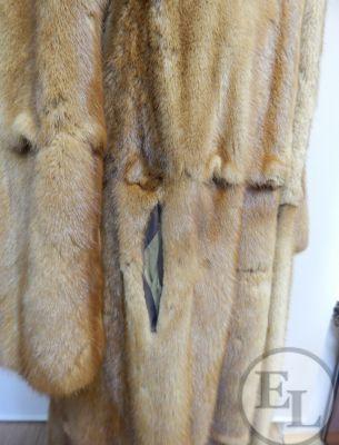 Куртка норка рыжая - 6